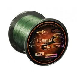 Plecionka Mikado Carp Octa Braid GREEN 300m