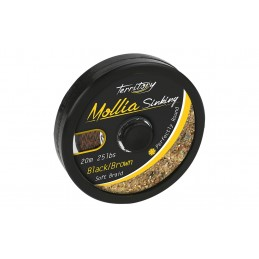 Mollia Plecionka Mikado Black-Brown 10m