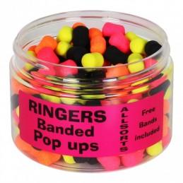 Banded Allsorts Pop Ups Ringers
