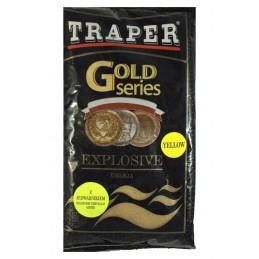 Zanęta Explosive Yellow Ukleja Gold Series TRAPER