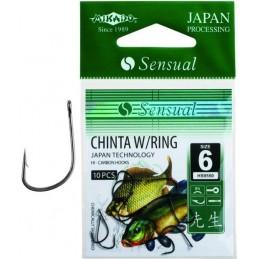 Haczyki Sensual Mikado Chinta W/Ring Oczko BN