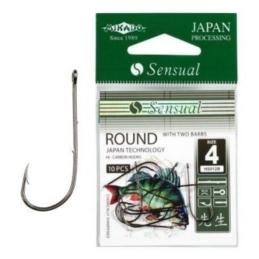 Haczyki Mikado Sensual Round z zadzoriami BN