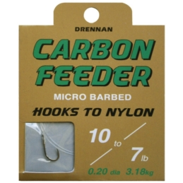 Haczyki Drennan Carbon Feeder + Przypon