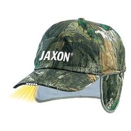 Czapka z latarką oraz osłoną Moro Jaxon UJ-CZX02B