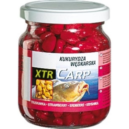 Kukurydza XTR CARP Jaxon 125g Truskawka Red