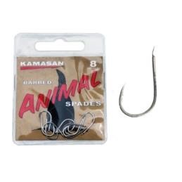 Haczyki Kamasan Animal Barbed Spade 10szt.