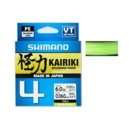 Plecionka Shimano Kairiki 4 Green 150m