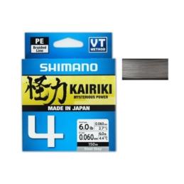 Plecionka Shimano Kairiki 4 Steel Gray 150m