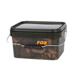 Fox Camo Square Bucket Wiadro 5L