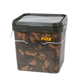 Fox Camo Square Bucket Wiadro 17L