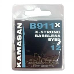 Haczyki Kamasan B911 X Barbless Eyed 10szt.