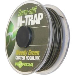 Korda Plecionka N-Trap Semi Stiff Weedy Green