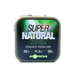 Korda Plecionka Super Natural Weedy Green